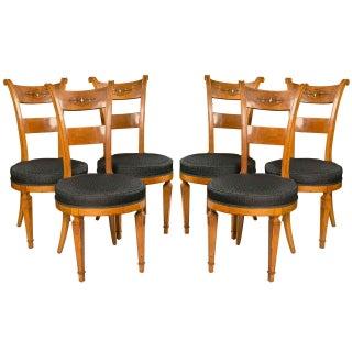 Biedermeier Style Side Chairs - Set of 6