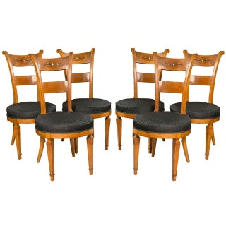 Biedermeier Style Side Chairs - Set of 6