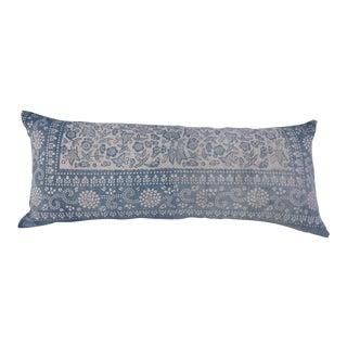 Indigo Blue & White Batik Pillow