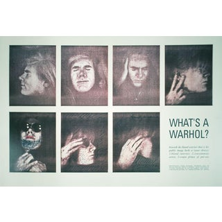 1990 What's a Warhol? Poster by Andy Warhol
