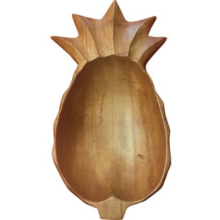 Teak Pineapple Bowl or Catchall