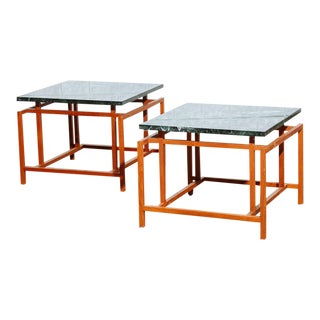 Henning Norgaard Sculptural Teak End Tables - A Pair
