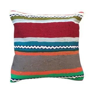 Striped Turkish Kilim Pillow