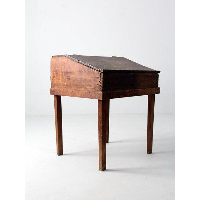 S antique slant top desk chairish