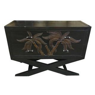 Handmade Wood & Bamboo X Base Dresser