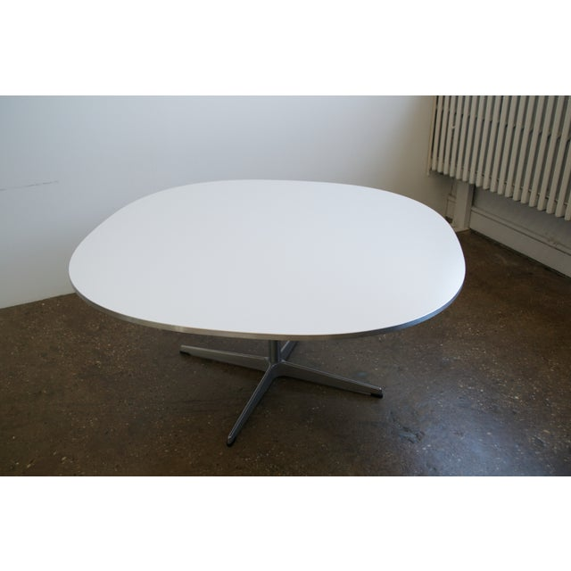 piet hein super elliptical coffee table chairish. Black Bedroom Furniture Sets. Home Design Ideas