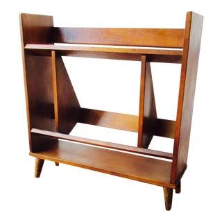 Mid-Century Danish Modern Wood Bookcase