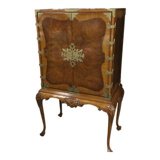 Queen Anne Cabinet on Stand
