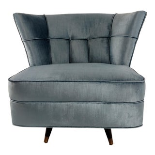 Vintage Swivel Mid-Century Chair