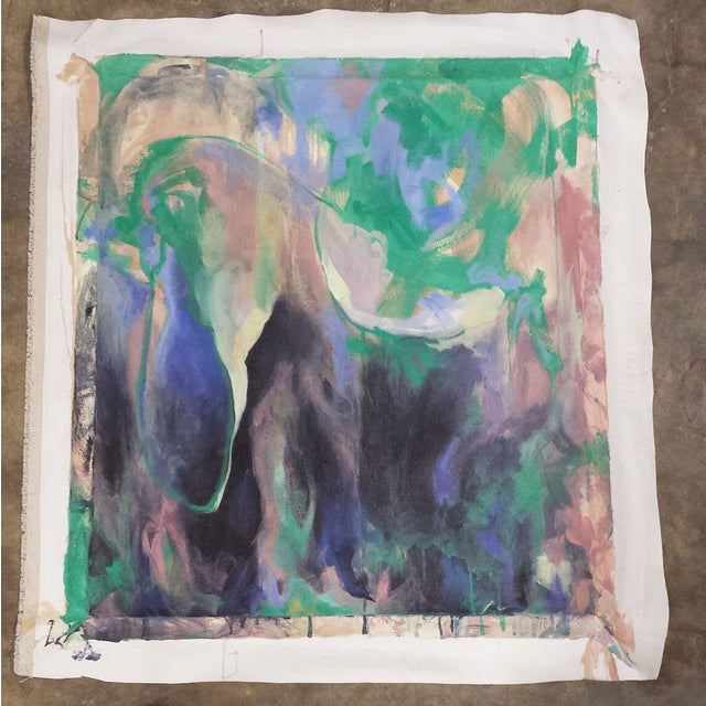 Image of Abstract Expressionism Painting Print