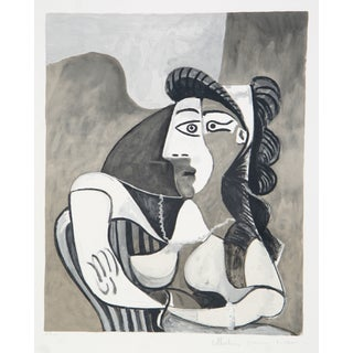 Pablo Picasso, Femme Accoudee, Lithograph