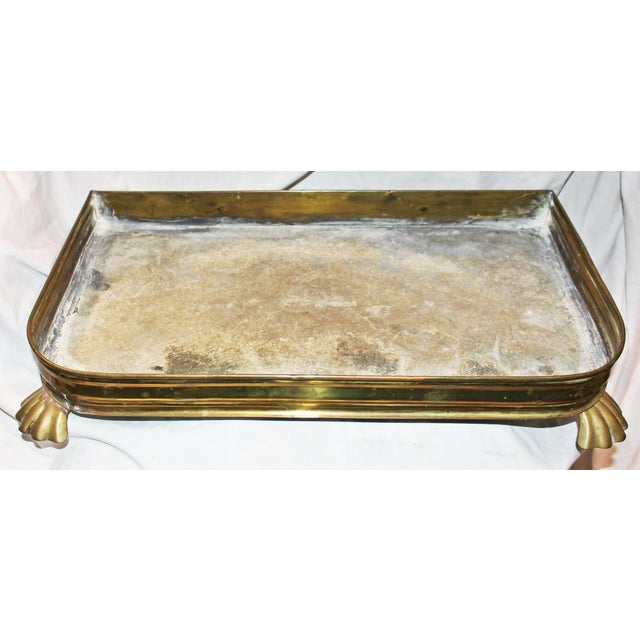 Antique Brass Planter Tray - Image 4 of 7