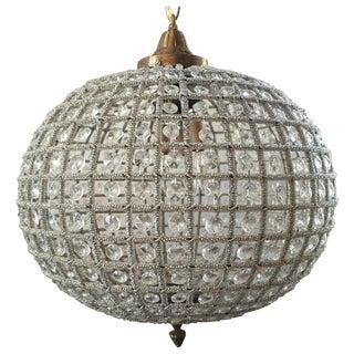 Crystal Sphere Chandelier