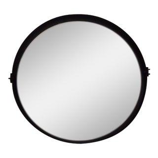 Round Pivot Iron Mirror