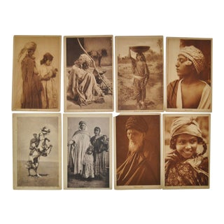 "Lehnert & Landrock ""Faces of North Africa"" Photo Cards- Set of 8"