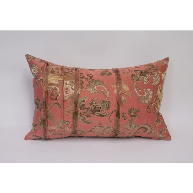 Pink and Gold Deconstructed Pillow - Image 2 of 5