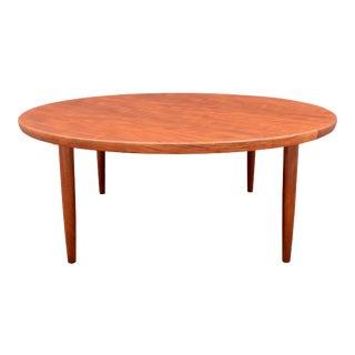 Vintage Danish Mid Century Modern Teak Coffee Table