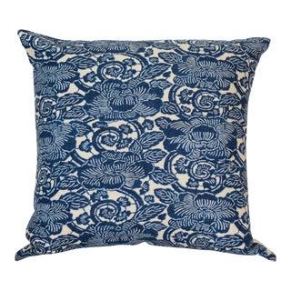 "Ralph Lauren Floral ""Augustine"" Linen Back Pillow Cover"