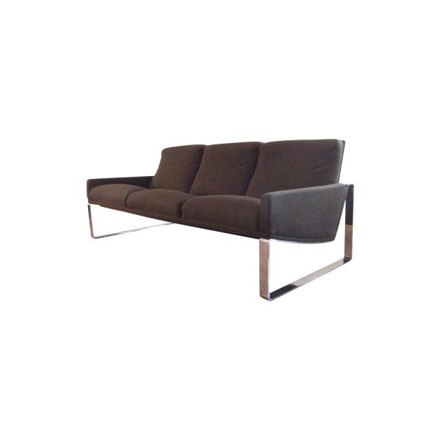 Mid-Century Modern Milo Baughman Sofa - Image 1 of 8