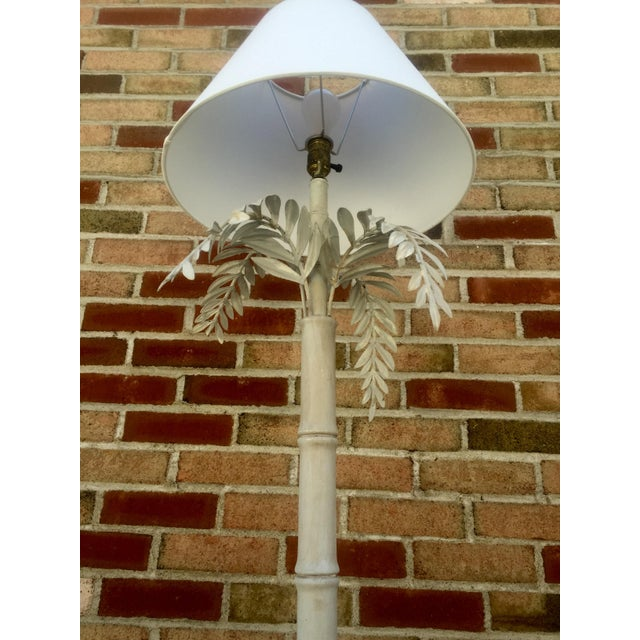 1930s Dripping Fern & Bamboo Lamp - Image 5 of 5