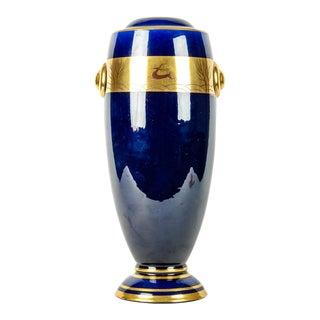 Vintage French Art Deco Style Porcelain Vase