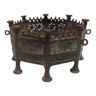Antique Bronze Brazier From South East Asia