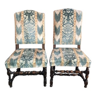 17th Century Side Chairs - A Pair