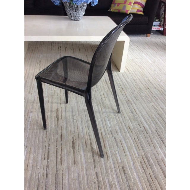 Grey Kartell Thalya Dining Chairs - Set of 5 - Image 4 of 8