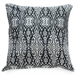 Black & White Ikat Tribal Pillow Cover