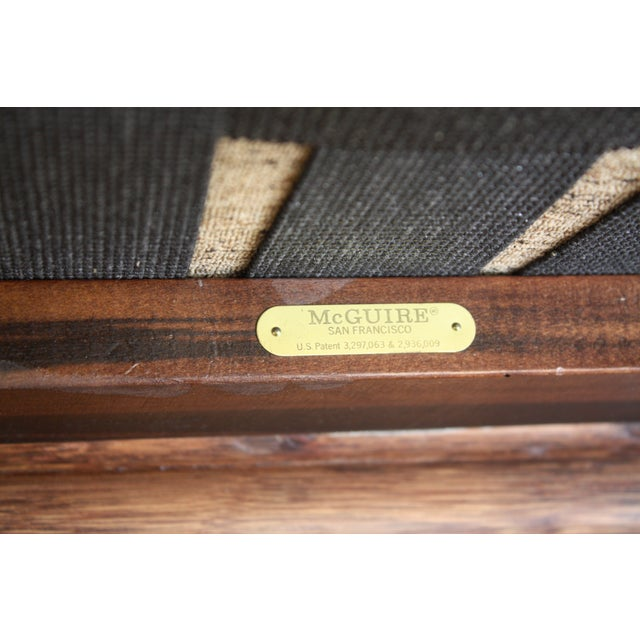 McGuire A-1 Lounge Chair - Image 9 of 9