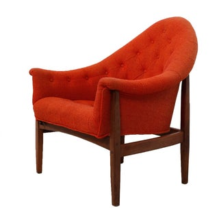 Milo Baughman Exposed Frame Lounge Chair
