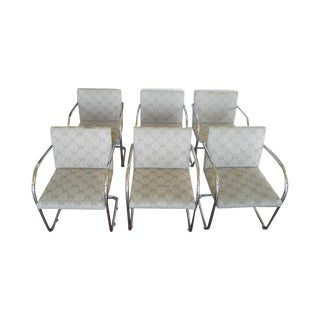 Tubular Knoll Brno Chairs- Set of 6