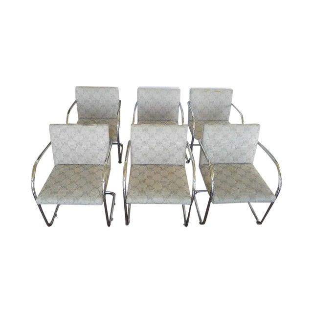 Image of Tubular Knoll Brno Chairs- Set of 6