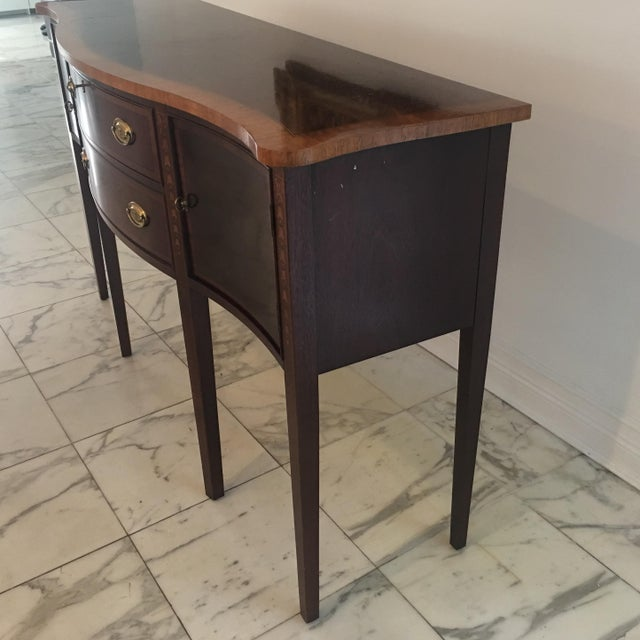 Antique Federal Style Inlaid Sideboard - Image 4 of 11