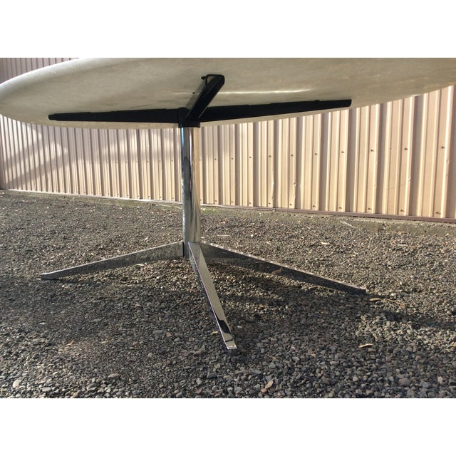 Florence Knoll Table Special Order Thassos Marble - Image 8 of 10