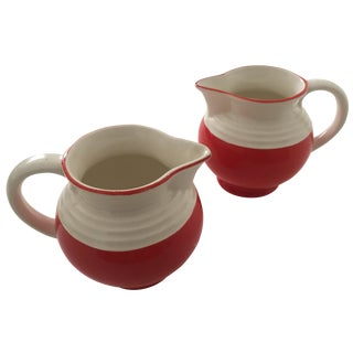 Ditmar Urbach Art Deco-Style Pitchers - A Pair