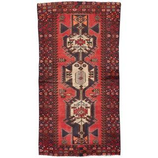 "Apadana - Vintage Persian Hamadan Rug, 3'1"" x 6'1"""