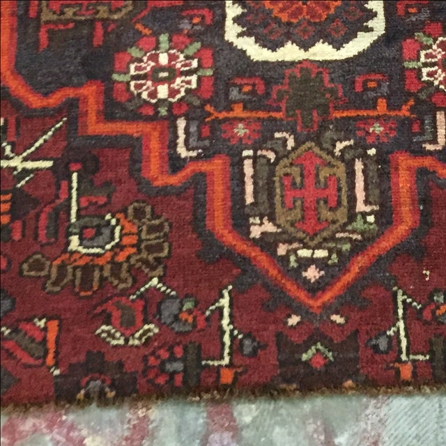 Shiraz Persian Rug - 3′2″ × 4′5″ - Image 6 of 9