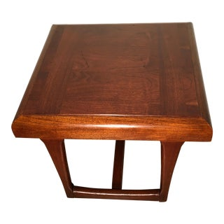 Lane Mid-Century Modern Walnut Side Table