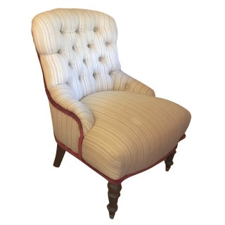 Petite Tufted Library Chair