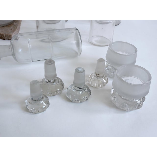 Image of Antique Apothecary Bottles - Set of 6