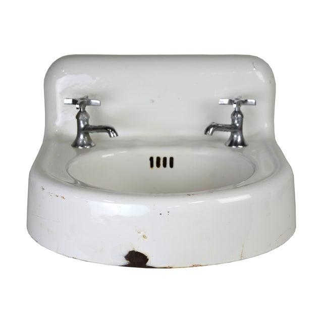 Kohler Vintage Cast Iron Enamel Sink - Image 1 of 4