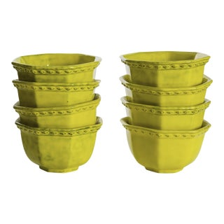 Rosenthal Netter Yellow Soup Bowls - Set of 8