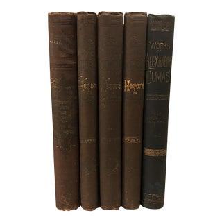 Antique Designer Books - Set of 5