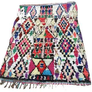 Losanges Moroccan Boucherouite Rug - 4′11″ × 6′6″