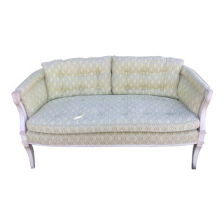 Vintage Charmark Hollywood Regency Loveseat Settee