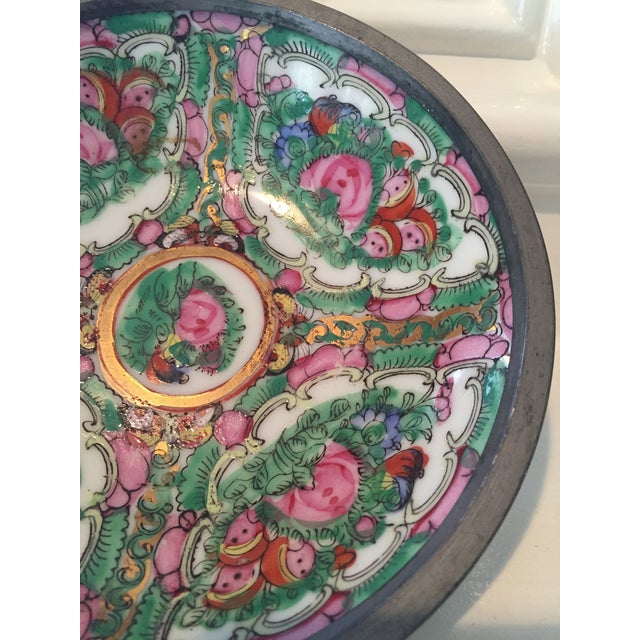 Hand Painted Ceramic & Pewter Dish - Image 8 of 10
