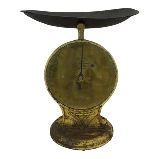 English Brass and Iron Salter Scale