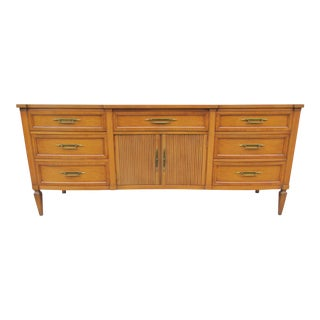 Elegant Nine Drawer Wavefront Dresser