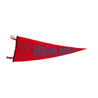 Regional Highlanders Felt Flag